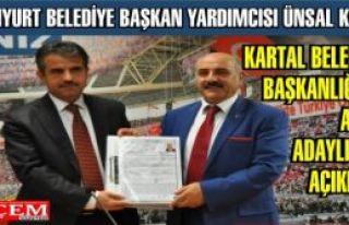 Ünsal Kıraç Ak Parti Kartal Belediye Başkan aday...