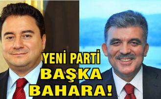 Gül ve Babacan'ın yeni partisi ile ilgili flaş gelişme!