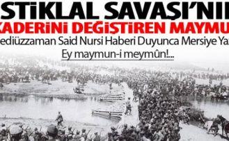 İstiklal Savaşı'nın kaderini değiştiren Maymun!