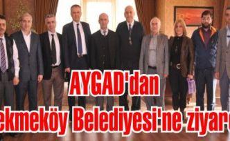 AYGAD'dan Çekmeköy Belediyesi'ne ziyaret