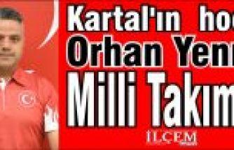 Kartal'ın hocası Orhan Yenmiş Milli Takım'da
