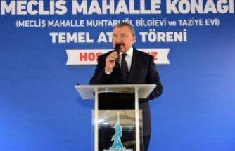 Erdem Sancaktepe'ye Yeni Muhtarlık Binası, Bilgi Evi ve Taziye evi kazandırıyor.