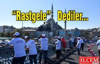 """Fatih Belediyesi Balık Festivali'nde """"Rastgele"""" yarışması"""