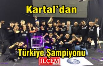 Kartal'dan Türkiye Şampiyonu