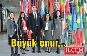 Birleşmiş Milletler'den Kartal Belediyesi Kreşine büyük onur