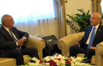 DSP Genel Başkanı AKSAKAL'dan, Kılıçdaroğlu'na ziyaret