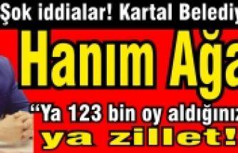 Kartal Belediyesi'nin Hanımağası, Cihan Oran hanımefendi!