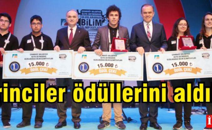 Çekmeköy Belediyesi Aliya İzzetbegoviç Uluslararası Bilim Olimpiyatları'nın kazananları belli oldu.