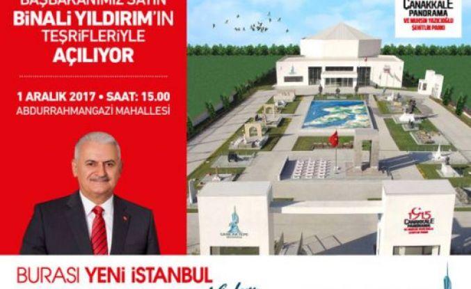 Başbakan Binali Yıldırım Sancaktepe'de