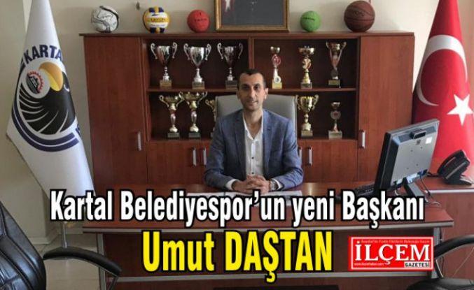 Kartal Belediyespor'un yeni Başkanı, Umut Daştan