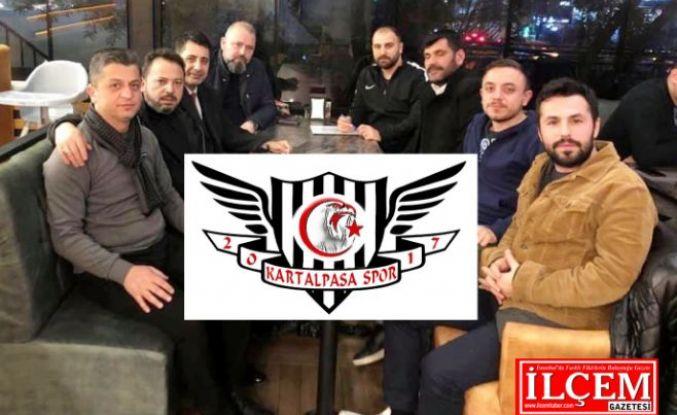 Kartalpaşa Gençlik ve Spor Kulübü yeni yönetim ile yeni döneme hazır.