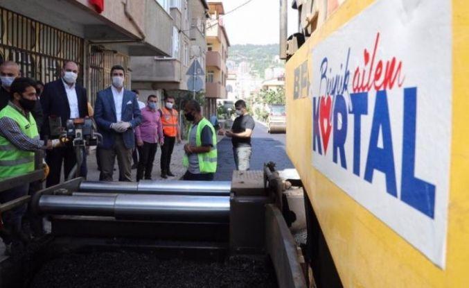 Kartal Belediyesinden asfalt seferberliği