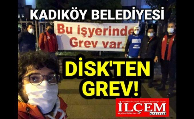 Emekçilerden Kadıköy Belediyesi'nde grev kararı!