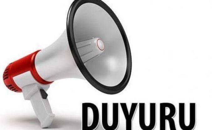 İstanbul Erzincan Dernekleri Federasyonu Olağanüstü Genel Kurul yapacak.