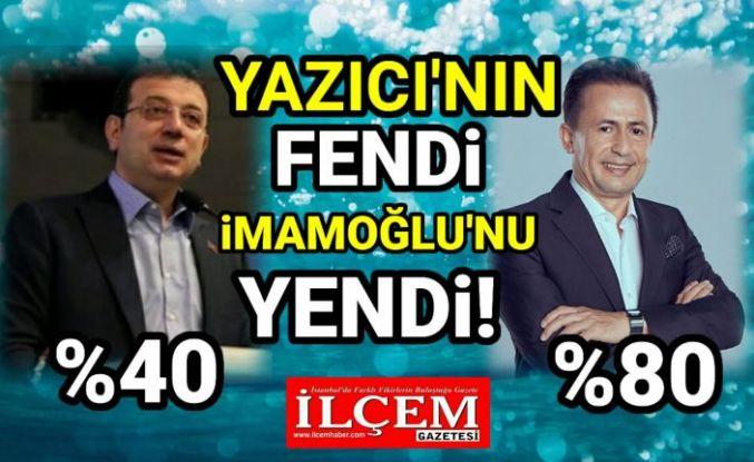 Şadi Yazıcı'nın fendi, İmamoğlu'nu yendi!