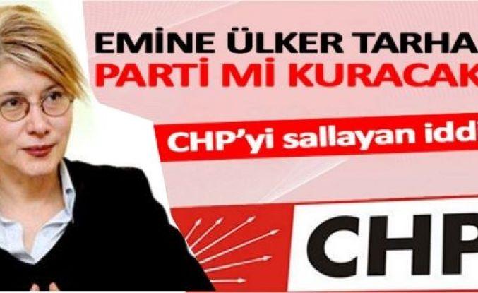 Emine Ülker Tarhan Parti'mi kuruyor.