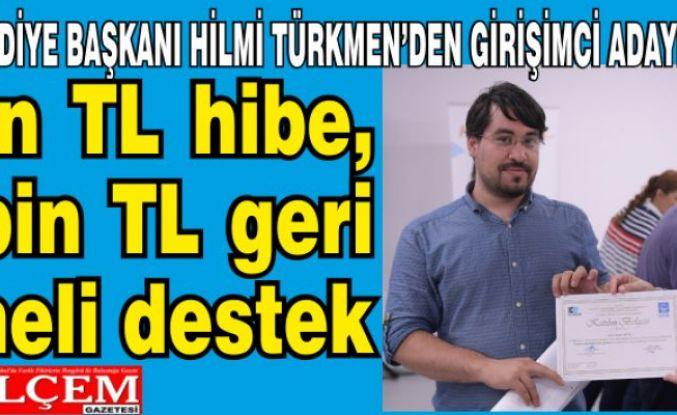 Hilmi Türkmen'den girişimci adaylarına destek