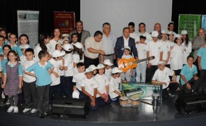 Yeşil Okullar Beykoz'da Ödüllerini Aldı