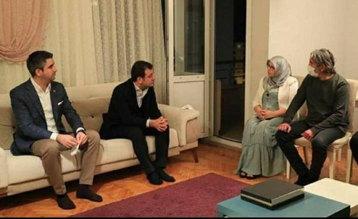 CHP'li başkanlardan HDP'li Hüda Kaya'ya ziyaret