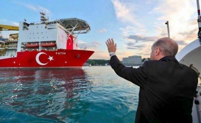 Başkan Erdoğan müjdeyi verdi.  135 Milyar Metreküplük rezerv