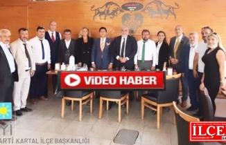 """Fuat Onbaşılı """"Kartal Belediyesi CHP'li belediye değil, Millet ittifakı Belediyesidir!"""""""