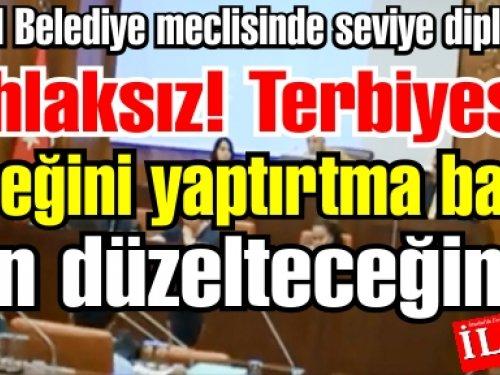 Altınok Öz Meclisi gerdi, Meclis üyesine 'Ahlaksız' dedi.